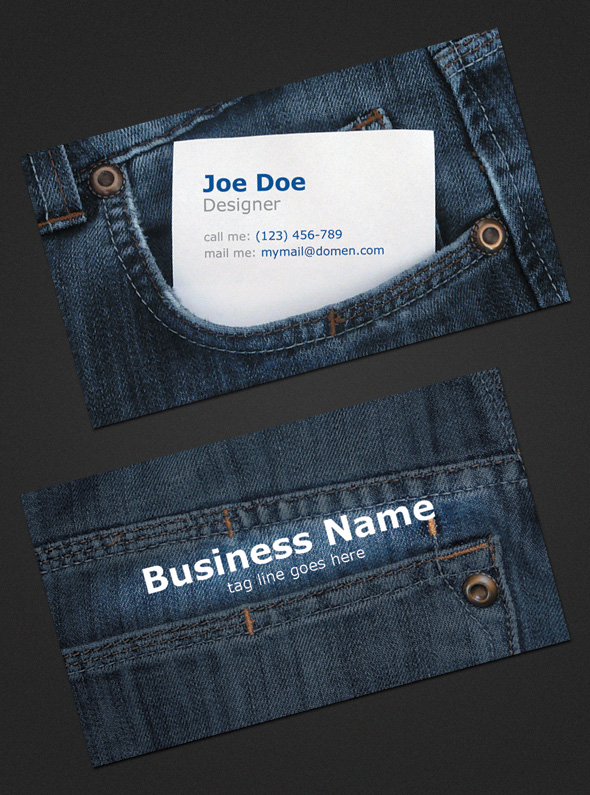 Jeans-Business-Card